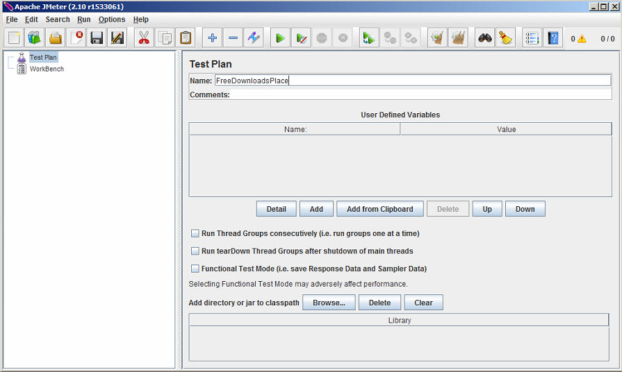 Apache JMeter Download Free - Can test and measure the performance ...