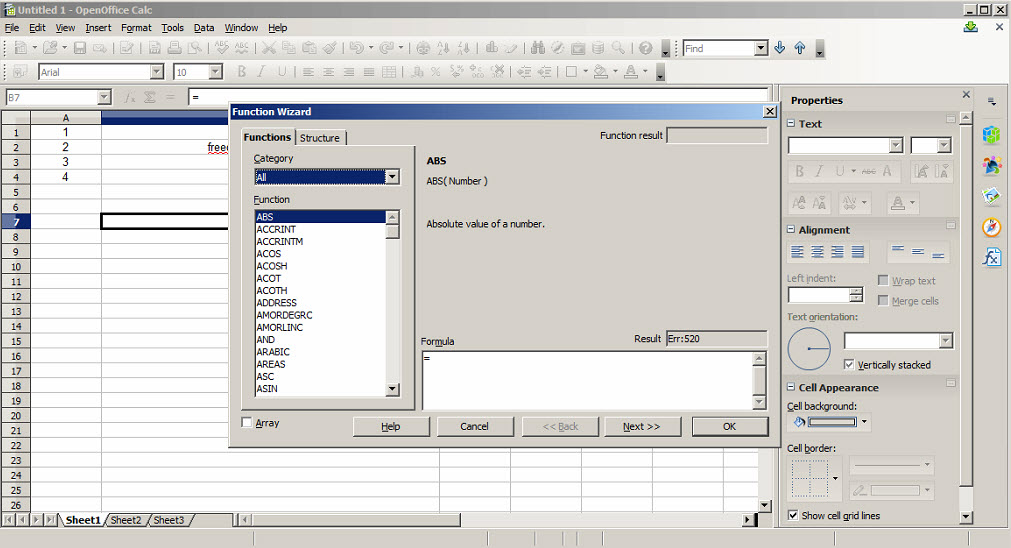 Apache openoffice download free alternative for microsoft office excel word powerpoint - Apache open office review ...