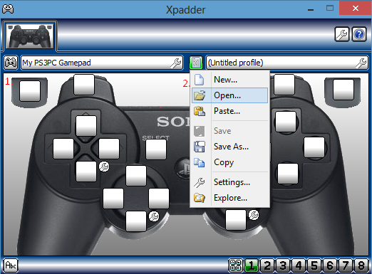 xpadder windows 8