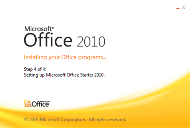 Microsoft Office Starter 2010 Download Free for Windows 10