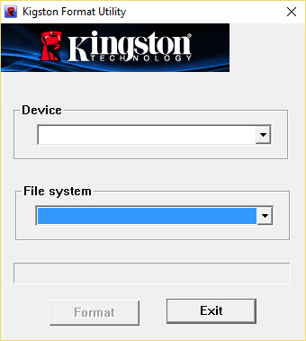 Kingston Format Utility Kingston-Format-Utility-1