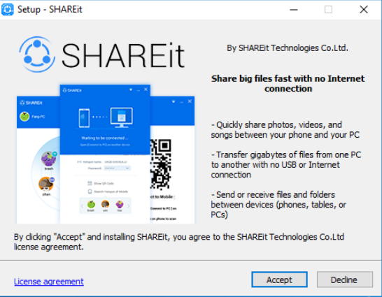 Lenovo SHAREit Download Free for Windows 10, 7, 8/8 1 (64 bit / 32 bit)