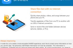 Lenovo SHAREit Download Free for Windows 10, 7, 8/8 1 (64 bit / 32 bit)