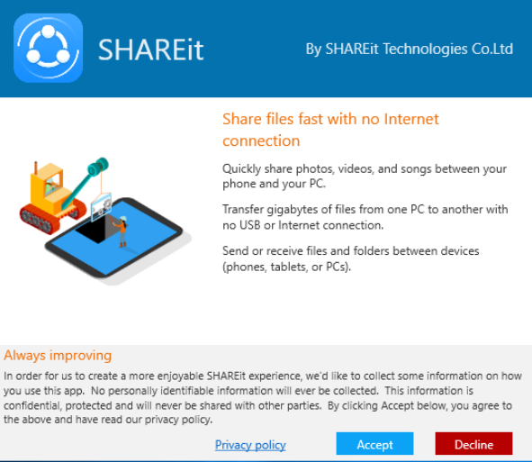 lenovo shareit latest version free download