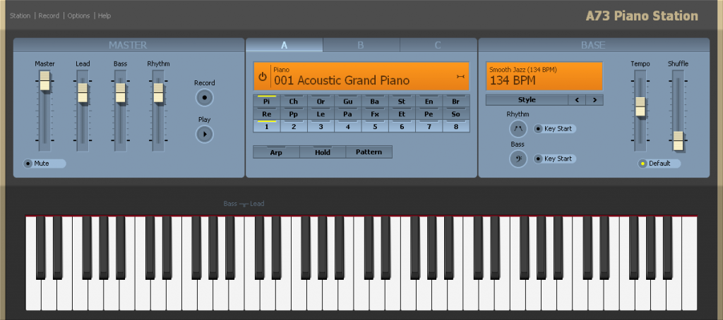 A73 Piano Station Download Free for Windows 10, 7, 8/8 1 (64 bit