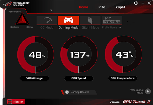 ASUS GPU Tweak Download Free for Windows 10, 7, 8/8 1 (64