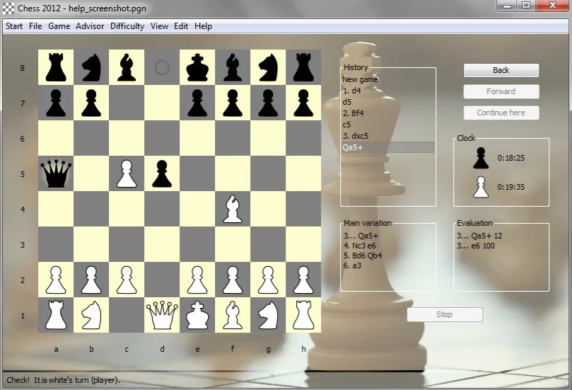 Chess 2012 Download Free for Windows 10, 7, 8/8 1 (64 bit