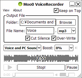 Moo0 voice recorder download free for windows 10, 7, 8/8. 1 (64 bit.