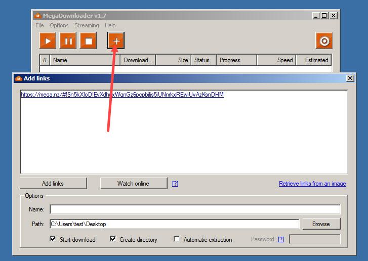 MegaDownloader Download Free for Windows 10, 7, 8/8 1 (64