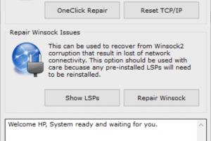 Winsock Repair Download Free for Windows 10, 7, 8/8 1 (64