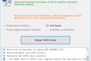 DVD Drive Repair Download Free for Windows 10, 7, 8/8 1 (64