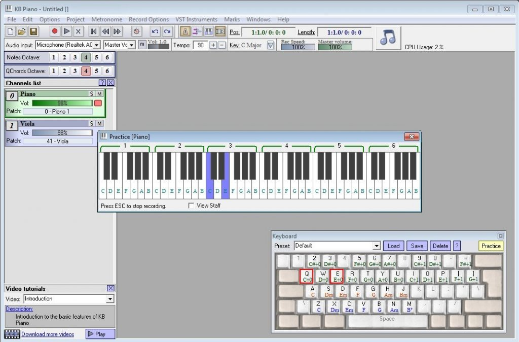 KB Piano Download Free for Windows 10, 7, 8/8 1 (64 bit / 32 bit)