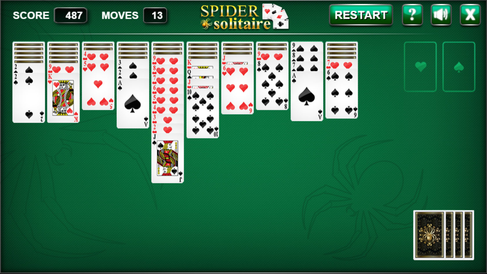 Spider Solitaire GroГџ