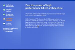 xp pro 64 bit service pack 3