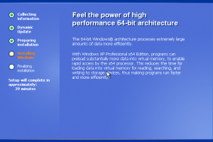 windows xp 64 bits