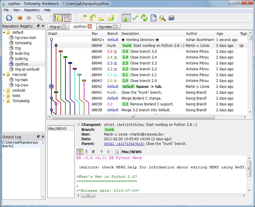 TortoiseHg Download Free for Windows 10, 7, 8/8 1 (64 bit