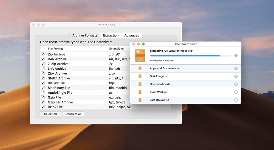 The Unarchiver for Mac Download Free