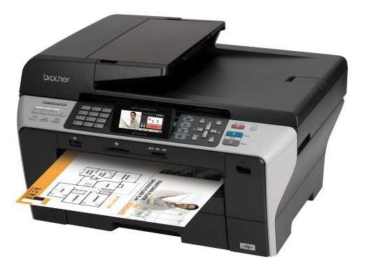 Brother MFC-6490CW Wireless Printer Driver Download Free for