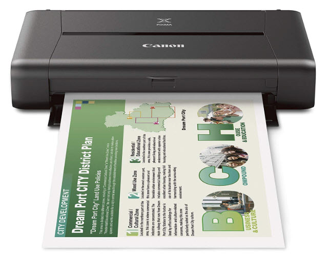 Canon PIXMA iP110 Mobile Printer Driver Download Free for Windows 10