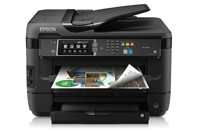 Epson WorkForce WF-7620 Printer Driver Download Free for