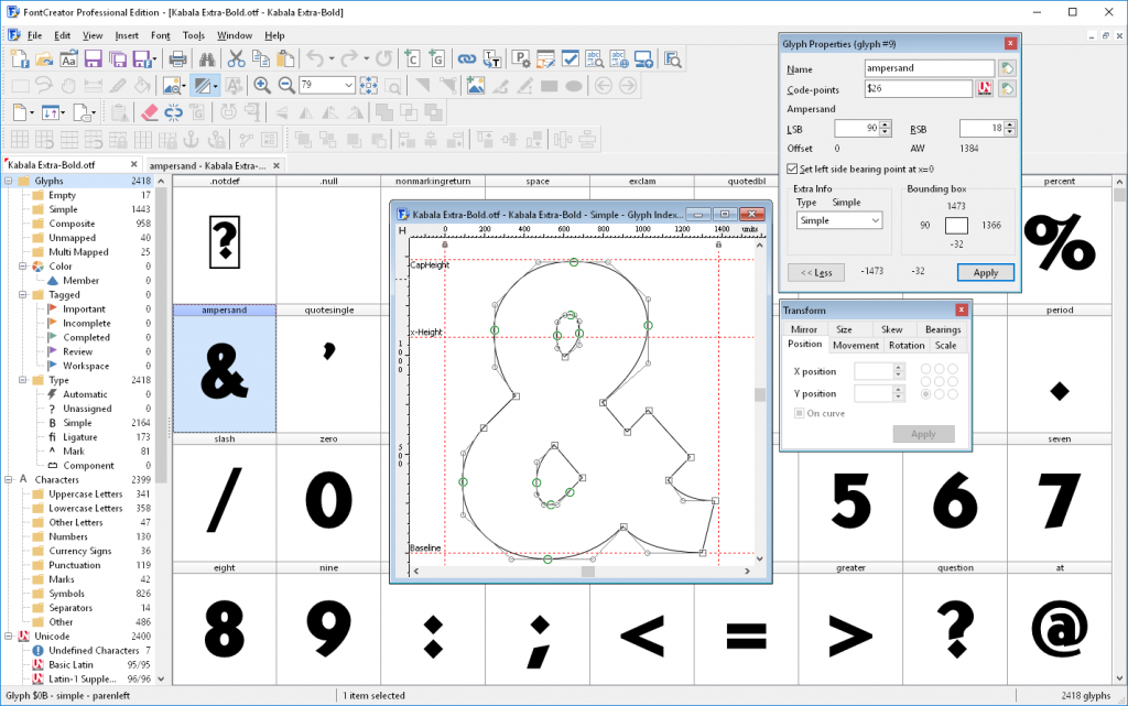 font creator free download full version