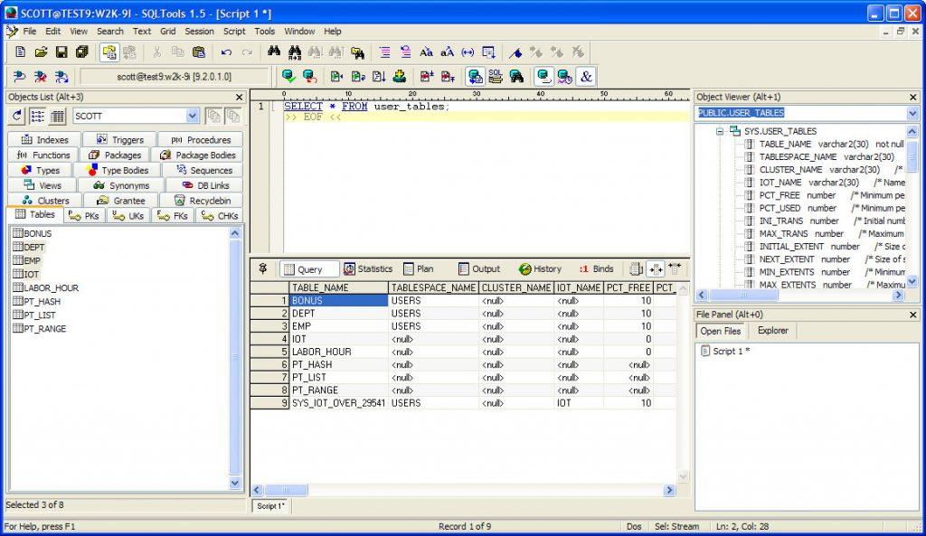 SQLTools Download Free for Windows 10, 7, 8/8 1 (64 bit / 32