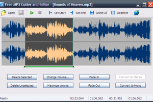 MP3 Cutter and Editor Download Free - Delete portions