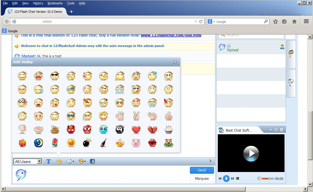 123 flash chat rooms online