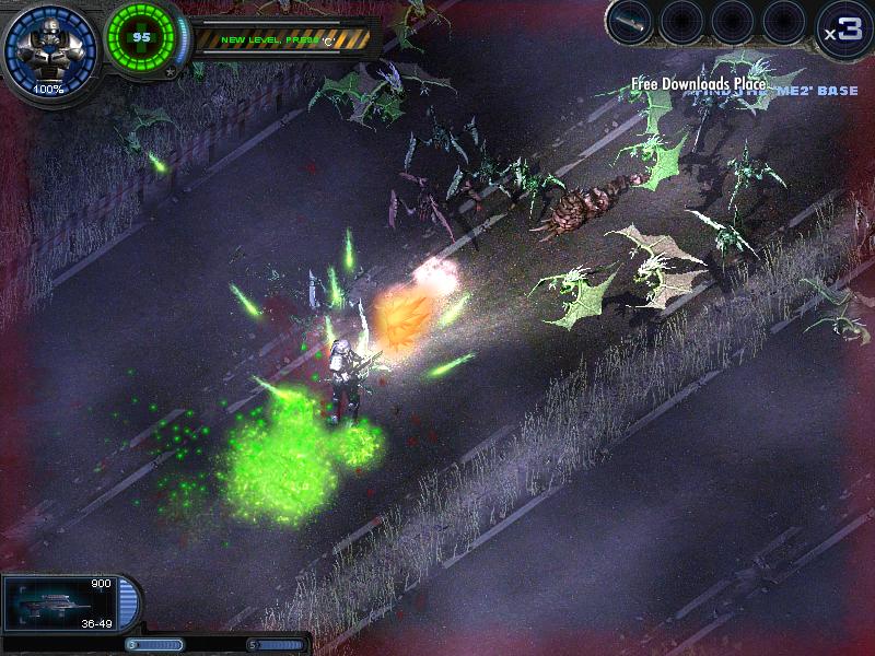 скачать alien shooter 4