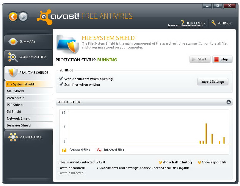 how to allow ytd in avast