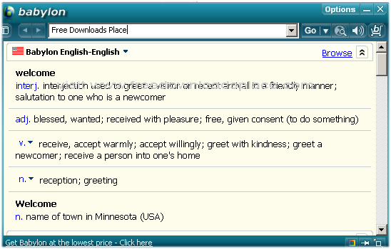 Babylon Download Free - Dictionary and translation between ...