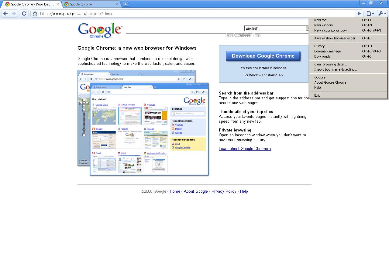 Browser Web Google Chrome