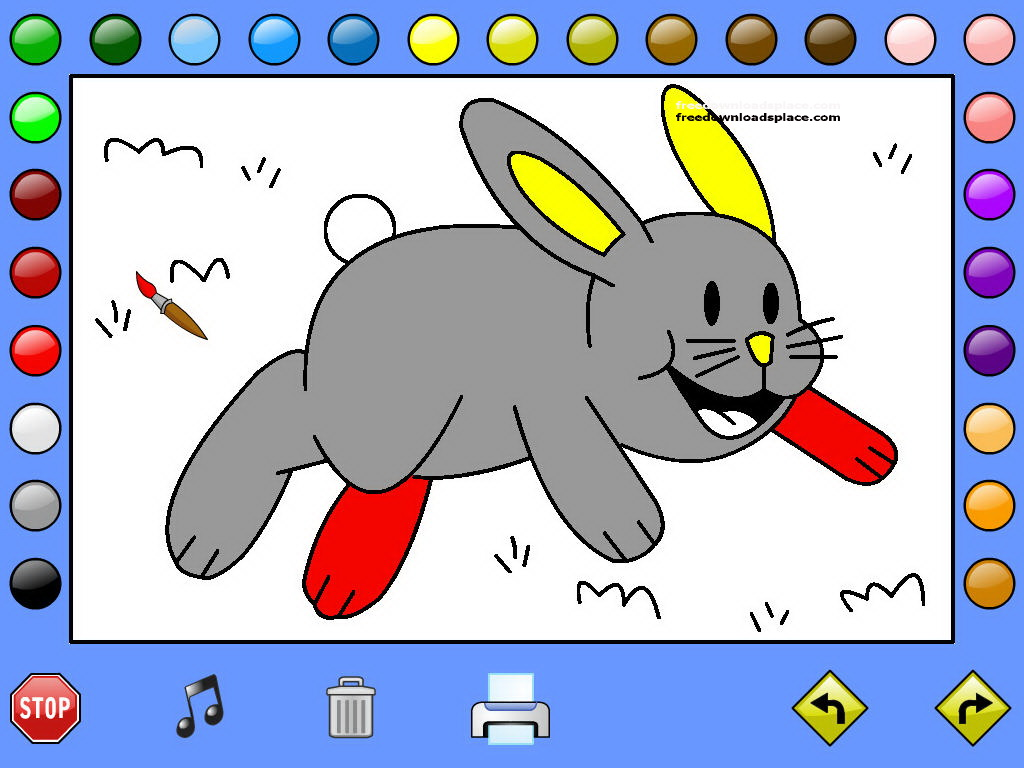 86 Leahs Animal Coloring Book