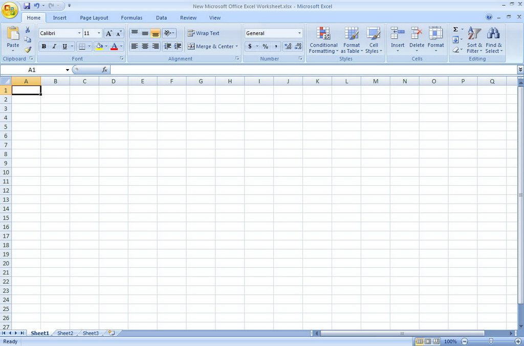 free excel software for windows 7
