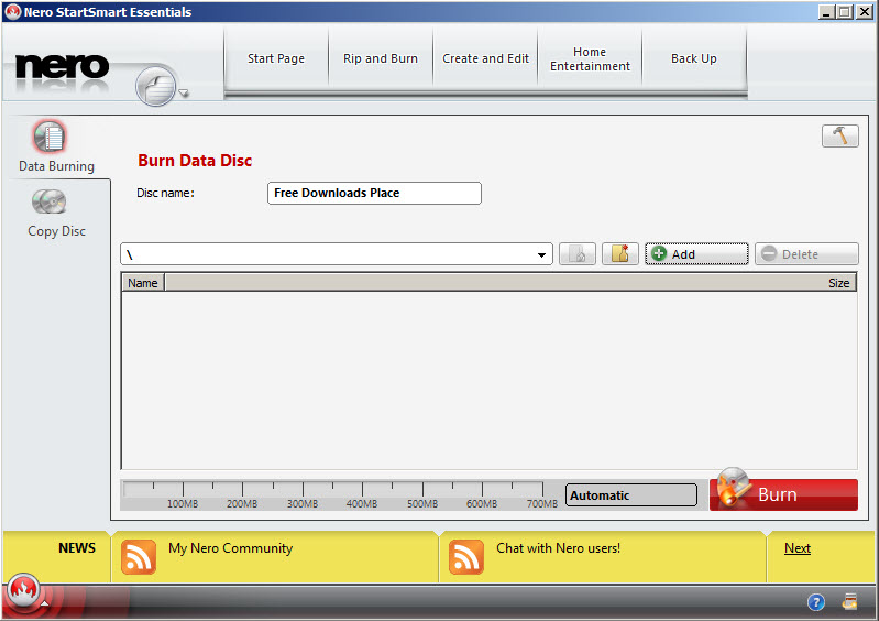 Nero Burning ROM Free Download - Can write, rewrite or copy