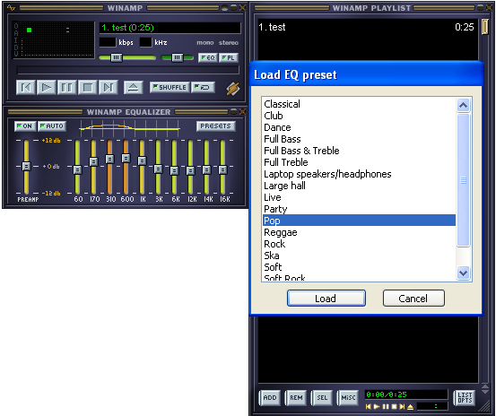 Winamp Download Free - Will play MP3 audio files